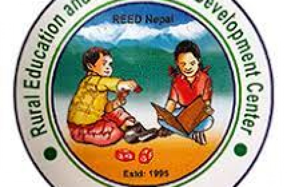 Rural Education and Environment Development Center (REED-Nepal) Logo